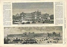 Centennial International Exhibition Philadelphia/ Exhibition CHILE Santiago 1875