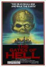City of the living dead Poster 01 A3 Box Toile imprimer