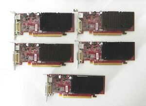 LOT OF 5 ATI GRAPHICS CARD ATI-102-A924 (B) PCI-E RADEON X1300 256MB