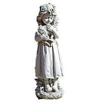 "Roman - 16"" H Garden Angel With Lamb"
