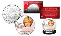 PRINCESS DIANA 1997-2017 20th ANNIVERSARY Royal Canadian Mint RCM Coin PORTRAIT
