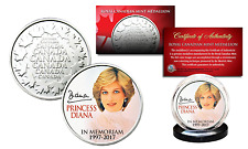 PRINCESS DIANA 1997-2017 20th ANNIVERSARY Royal Canadian Mint RCM Coin PORTRAIT