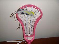 Brine Amonte Strung Lacrosse Head Pink Woman's