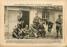 Soldiers British Army Sammies Bois Belleau Machine Gun Château-Thierry 1918 WWI