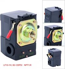 Air Compressor Pressure Switch Control Adjustable Single Port 220v 95 125 Psi
