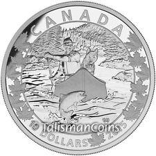 2015 Canoe Across Canada 2 Splendid Surroundings Fraser River Rapids $10 Silver