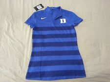 Womens New Duke Blue Devils Nike Golf Polo Shirt XS Blue Athletic