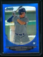AARON JUDGE 1st 2013 Bowman Chrome Draft BLUE REFRACTOR #/99 Yankees Rookie RC