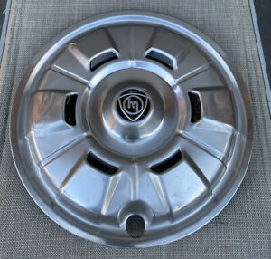MAZDA ROTARY 1970's CAPELLA RX2 COUPE GENUINE STAINLESS HUBCAP!! RARE!!