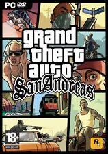 Grand Theft Auto (GTA): San Andreas - PC/Windows - UK/PAL