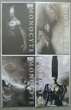"""MONOCYTE """"IN THE LAND OF THE BLIND"""" #1-4 SET..MENTON 3..IDW 2011 1ST PRINT..VFN+"""