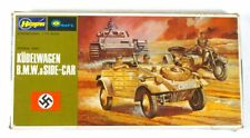 Hasegawa Minicraft WW2 VW KUBELWAGEN & BMW MOTORCYCLE & SIDECAR Model Kit Sealed
