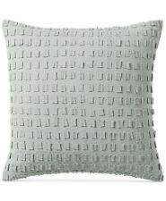 "Hotel Collection Brushstroke Linen 20"" Square Decorative Pillow BEGE H4108"