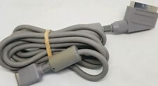 VERY RARE OFFICIAL SONY PLAYSTATION PS1 PS2 PS3 RGB SCART CABLE LEAD