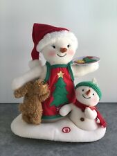 HALLMARK Jingle Pals TIME FOR COOKIES Snowman Musical Animated Singing 2015