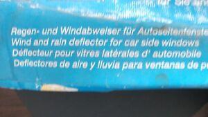Clean Air  Regen- und Windabweiser Seitenscheibe