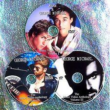 Pin & FREE Wham! George Michael Music Video & Remix Anthology 82-2014 3 DVD Set