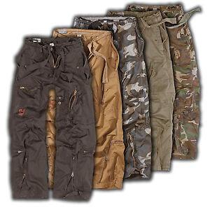 SURPLUS INFANTRY CARGO HOSE JEANS US Military Trousers Pants Freizeithose
