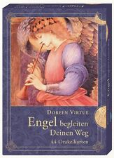 Engel begleiten deinen Weg Doreen Virtue Engelkarten mit Begleitheft Kartenset