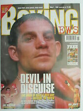 Boxing News 1 May 1998 Spencer Oliver Calzaghe Bruce Scott Gilbert Eastman