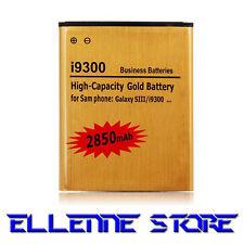 Batteria Gold 2850mah COMPATIBILE SAMSUNG GALAXY S3 I9300- MAGGIORATA