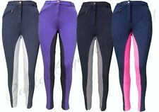 Childrens/Childs/Kids Quality Riding Jodhpurs/jodphurs , Plain or Two Tone!