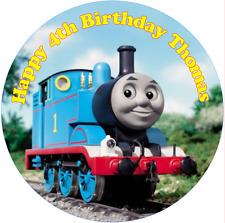 "Thomas the tank engine  7.5"" Round  Edible Icing Cake Topper Birthday"