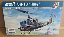 ITALERI BELL UH-1B HUEY HELICOPTER 1:72 SCALE PLASTIC MODEL KIT AIRCRAFT