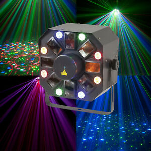 Moonflower RGB  laser Stage Light Effect Laser Projector Party Christmas Lights