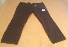 NWT ONeill Mens Stanwood Pants 100% Cotton Size 40, 32 Inseam Black NEW