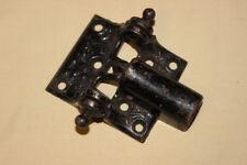 Vintage cast spring loaded hinge ornate