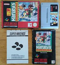 Harley's Humongous Adventure Super Nintendo / complet / envoi gratuit.protégé