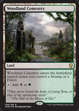 1x WOODLAND CEMETERY - Rare - Dominaria - MTG - NM - Magic the Gathering