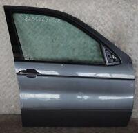 BMW X5 Series E53 Door Front Right O/S Stahlgrau Steel Grey Metallic - 400