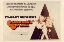 "Stanley Kubrick'S ""Clockwork Orange"" cpyrt 1989 World Postcards Continental-size"