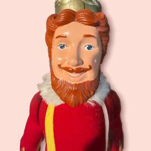"Vintage 1980 Burger King Knickerbocker Stuffed Plush Doll Toy BK Fast Food 20"""