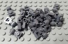 LEGO New Lot of 25 Dark Bluish Gray City Creator 1x1 Clip Light Plate Pieces