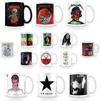 Metallica Mug Bob Marley David Bowie Pink Floyd Rock Metal Reggae Music Official
