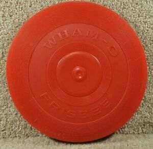 Vintage 1966 Wham-O Frisbee Disc 95 Gram Nine Inch Red