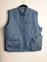Atelier Urban Gear Men's Military Vest Bluestone Color R.R.P $90.00 Size XL