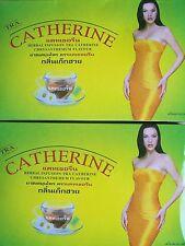 CATHERINE CHRYSANTHEMUM 64 SACS MINCEUR EXTRAIT DE THÉ LAXATIF VERT THÉ