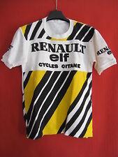 Camiseta Camisa de maillot de ciclismo RENAULT ELF ciclos Gitanes Vintage