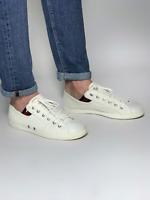 GUCCI white men's web signature denim sneakers shoes | Size EUR40(26.5cm/10.2in)