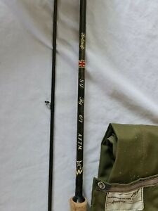 """NORTH WESTERN RODCRAFT CARBON FLY ROD 9'0"""" 6/7 A.F.T.M **MADE IN GB**"""