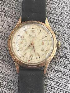 ANCIEN chronographe DREFFA calibre VALJOUX 92 - Chrono CAL.V92 - VALJOUX 92