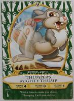 Disney Sorcerers of the Magic Kingdom Card 59 Thumper's Mighty Thump New