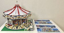 LEGO Creator 10196 Grand Carousel, 100% Complete! Tested & Working!