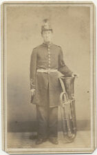 FRANKFORD PENNSYLVANIA SOLDIER WITH LARGE HORN
