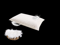 Luxury Comfy Duck Feather Pillows Pairs - Where Quality Matters