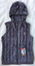 THE NORTH FACE Women's Furlander Fleece Jacket Vest Hood FZ GREY NWT $99 SMALL